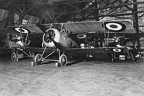 94e86775d6b5 Nieuport 17 de l escadrille N 79 - Photo SHD section Air de Vincennes.