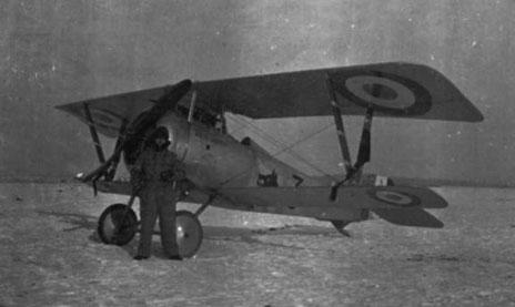 2db6b7e4202a Nieuport 17 à moteur Clerget codés de gauche à droite