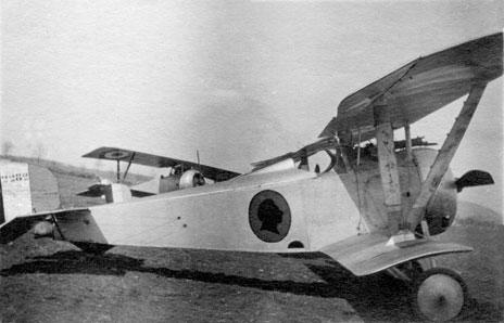 0253927d0e99 Nieuport 17 n° 2282 de l escadrille N 95 à l époque des