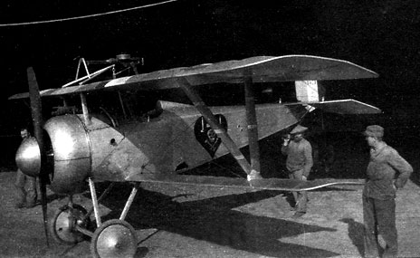 d39b8ff17618 Nieuport 17 n° N 1571 affecté au Slt Charles Nungesser - Photo Daniel Girou  transmise par Michel Bazas que je remercie pour son aide.